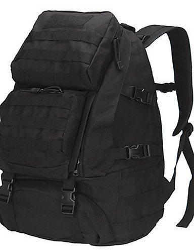 ZQ 50 L Rucksack Camping & Wandern Draußen Multifunktions colores surtidos Oxford N/A Black