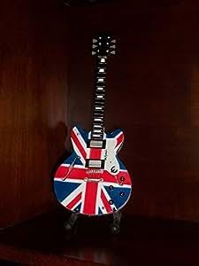 Mini Guitare OASIS NOEL GALLAGHER Affichage Cadeau