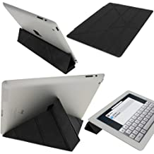 iGadgitz A1883 Cover case Negro funda para tablet - fundas para tablets (Cover case, Negro, Apple, iPad 2, 3, 4, Resistente a rayones)