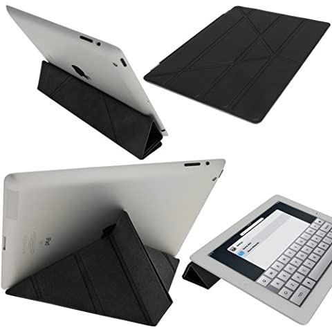 iGadgitz A1883 funda para tablet - fundas para tablets (Protectora, Negro, Apple, iPad 2, 3, 4, Resistente a