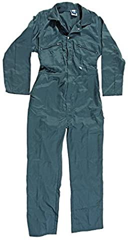 Blue Castle 366/GN-42 42-Inch Zip Front Coverall Boilersuit - Green