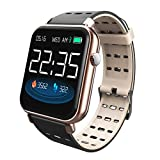 ATpart Fitness Trackers, Fitness Armband Farbbildschirm Smart Armband Echtzeit Herzfrequenz Blutdruck Schlafüberwachung IP67 Wasserdichtes Laufsport Fitness Tracker Smartwatch
