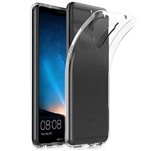 Amonke Handyhülle für Huawei Mate 10 Lite - Soft Flexible Huawei Mate 10 Lite Hülle Silikon Transparent, Ultra Clear TPU Case Cover Durchsichtige Handytasche Schutzhülle für Huawei Mate10 Lite
