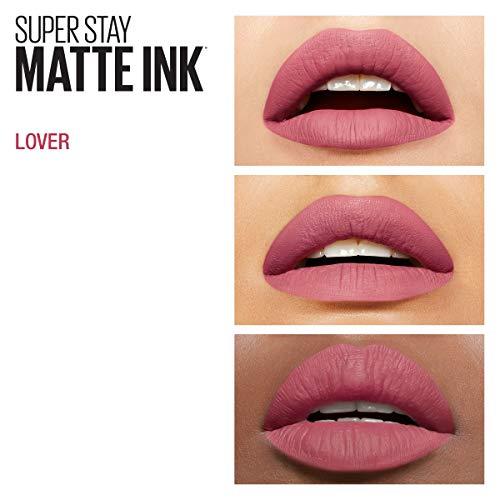 Maybelline Super Stay Matte Ink Lippenstift, Nr. 15 Lover, 5 ml