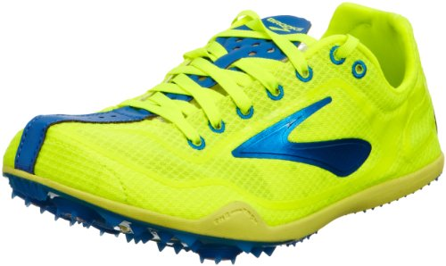 Brooks  The Wire 2, Chaussures d'athlétisme mixte adulte Jaune - Nightlife/Blue