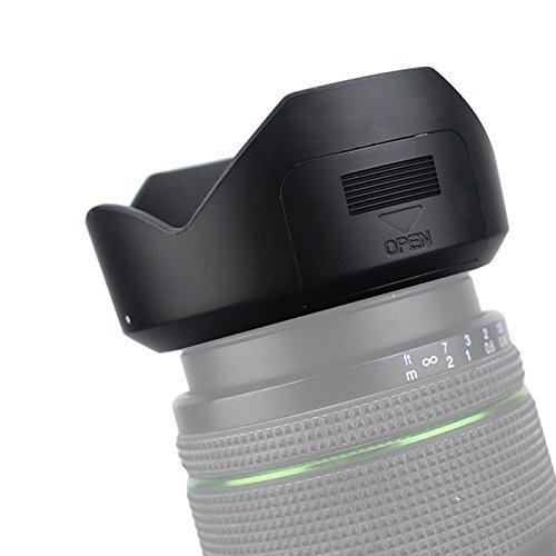 JJC Pentax Compatible PH-RBC 52mm Lens Hood para SMC PENTAX-DA 18-55mm..