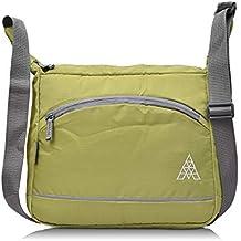 Fristo Men's Polyester Slingbag (Green)