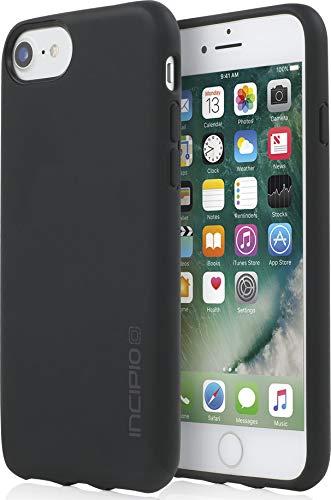 Incipio NGP Schutzhülle für Apple iPhone 8 / 7 / 6S - schwarz [Stoßfest | Reißfest | Flexibel | Matt] - IPH-1479-BLK