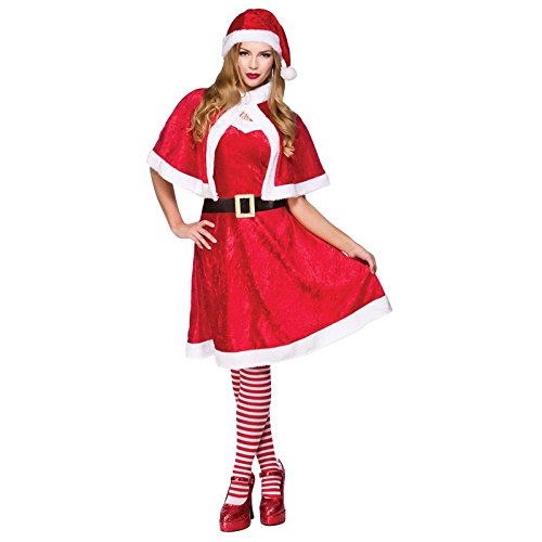 Little Miss Santa (Dress Miss Erwachsene Für Fancy Little Kostüme)