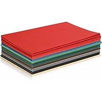 Colortime 60piezas Navidad tarjetas de cartulina, varios colores