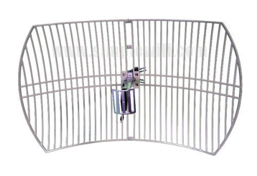 Antenna World G2424 Directional Range Booster WIFI Parabolic Grid Antenna  available at amazon for Rs.8306