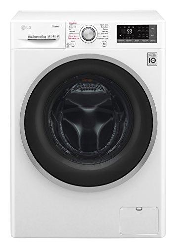 LG F4J7VY1W lavatrice Libera installazione Caricamento frontale Bianco 9 kg 1400 Giri/min A+++