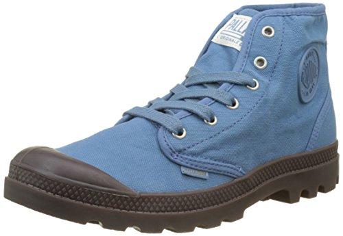 Palladium Herren Pampa Hi Hohe Sneaker Blau (Captain Blue/dark Gum K90)