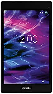 Medion MD99443 20,3 cm (8 Zoll) Tablet PC (Intel Atom Z3735F, 2GB RAM, 16GB SSD, IPS-Technologie, 5 Megapixel Kamera, Android Lollipop 5.0) titan