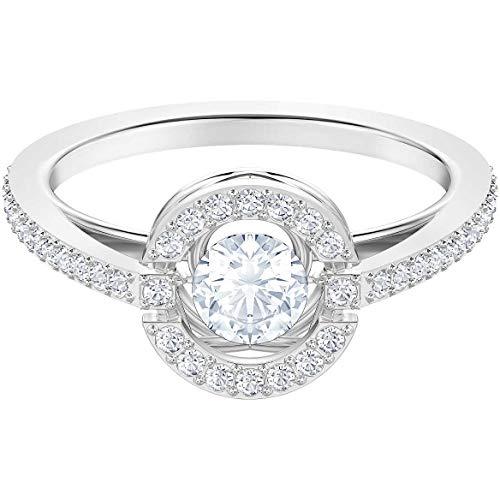 Swarovski Damen-Ringe Edelstahl Kristall \'- Ringgröße 50 5482516