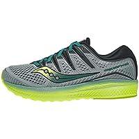 Saucony Men's Triumph Iso 5 Running Shoes Green 46 EU