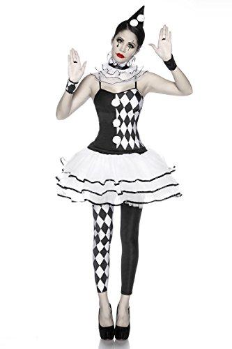 5-tlg. Harlekin-Kostüm
