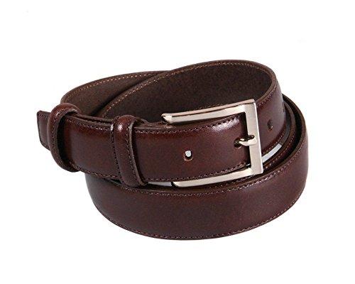 Brown Skinny Belt (SAGEBROWN Brown Leather Men's Skinny Belt)