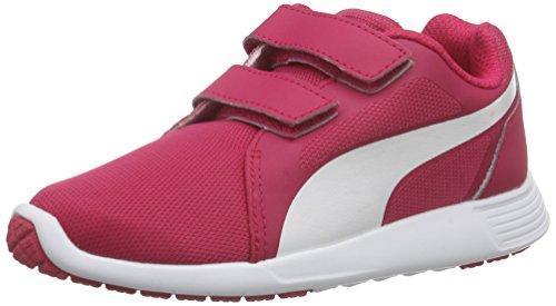 Puma St Trainer Evo V Inf, Unisex-Kinder Sneakers, Pink (Rose Red-White 04), 31 EU (12 Kinder UK) (Mädchen Schuhe 12 Puma)