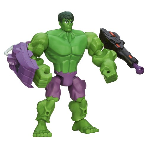 Marvel Super Hero Stampfern Spielzeug–Hulk 15,2cm Deluxe Action -