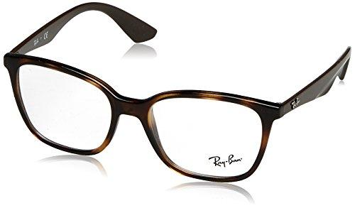 Ray-Ban Herren Brillengestell 0rx 7066 5577 52, Braun (Shiny Havana)