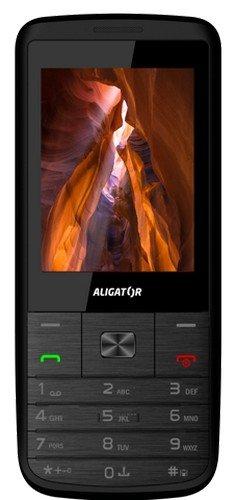 Aligator D920 Mobiltelefon dual SIM, 1,3 MP Kamera, 4,41 x 2,01 x 0,45 Zoll schwarz
