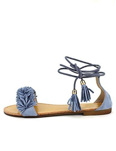 Cendriyon Sandale Blue Jean BOAIME Chaussures Femme Bleu