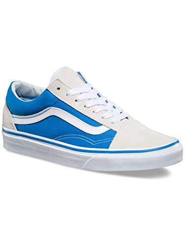 Vans Ua Old Skool, Scarpe da Ginnastica Basse Donna French Blue/True White