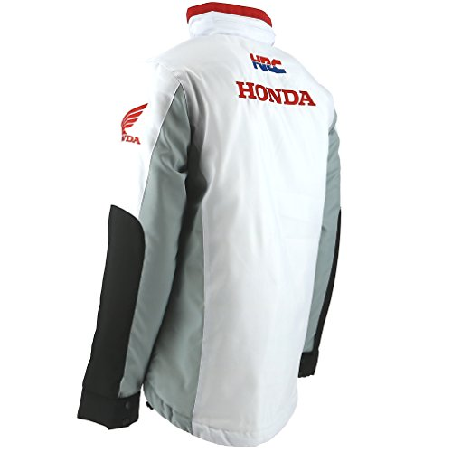 Honda Hrc Moto Gp Team Logo Bianca Giacca Ufficiale 2017