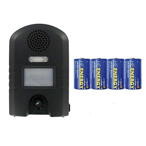 Weitech Garden Protector 2 - inklusive 4 Heitech Mono/D Batterien