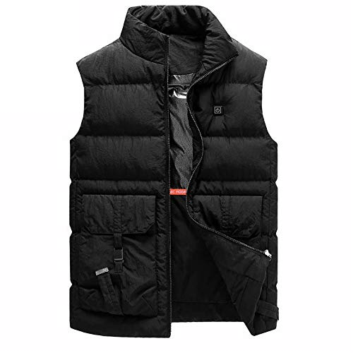 41g4wr1l5rL. SS500  - XIHAA Electric Heated Warm Vest USB,Lightweight 5V 3 Heating Levels, Outdoor Riding Down In The Warm Coat Smart Heating Vest