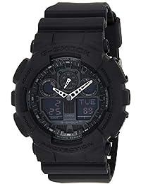 Casio G-Shock Herren Harz Uhrenarmband GA-100-1A1ER