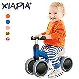 Mingzheng Bicicleta sin Pedales para Bebés de 1 año 10-24 Meses Juquetes de Equilibrio Regalo Bebé Niño Niña (Azul)