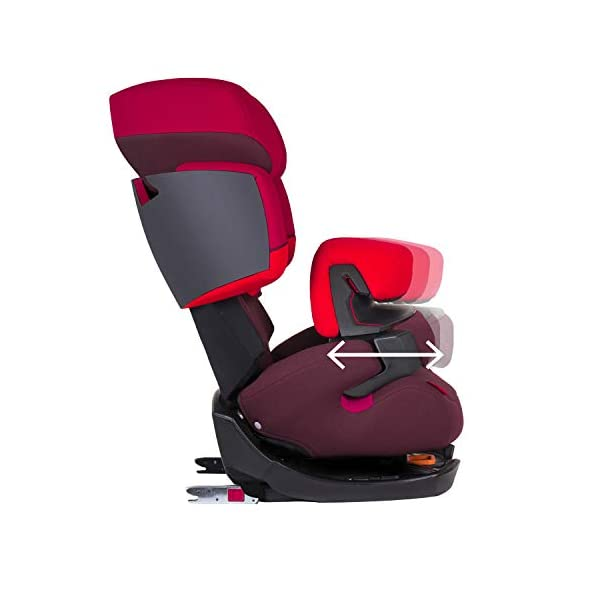 CYBEX Silver Pallas-Fix 2-in-1 Child's Car Seat, For Cars with and without ISOFIX, Group 1/2/3 (9-36 kg), From approx. 9 Months to approx. 12 Years, Rumba Red Cybex Sturdy and high-quality child car seat for long-term use - For children aged approx. 9 months to approx. 12 years (9-36 kg), Suitable for cars with and without ISOFIX Maximum safety - Depth-adjustable impact shield, 3-way adjustable reclining headrest, Built-in side impact protection (L.S.P. System) 11-way height-adjustable comfort headrest, One-hand adjustable reclining position, Easy conversion to Solution X-Fix for children from 3 years (group 2/3) by removing impact shield and base, Adjustable backrest 6
