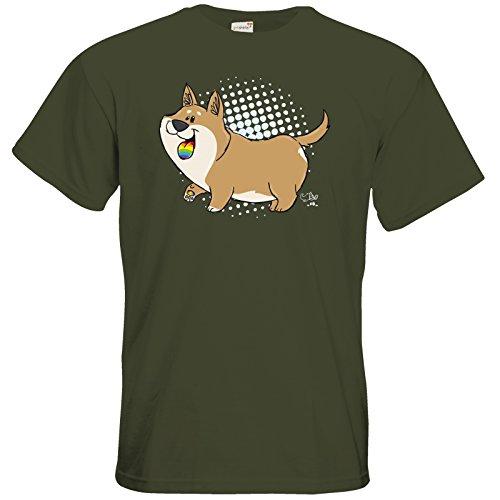 getshirts - Pummeleinhorn - T-Shirt - Bisu Khaki