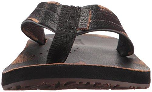 REEF Homme - DRAFTSMEN LUX - worn black Worn Black
