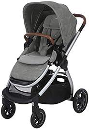 Maxi-Cosi Adorra barnvagn, bekväm, hopfällbar kombibarnvagn med inköpskorg och flera sittpositioner, kan använ