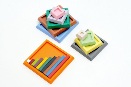 Numicon Number Rod Trays 1-10 & 20