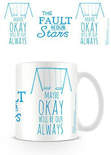 Set: Colpa Delle Stelle, Swings Tazza Da Caffè Mug (9x8 cm) E 1 Sticker Sorpresa 1art1®