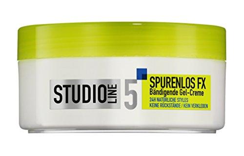 L\'Oréal Paris Studio Line Haar-Creme Spurenlos FX Gel-Creme / Bändigendes Haarwachs, 24h Styling ultra starker Halt (ohne zu verkleben, ohne Rückstände) 6 x 150 ml