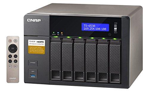 Qnap  TS-653A-4G 18TB (6 x 3TB WD RED) 6 Bay Desktop NAS Einheit mit 4GB RAM | 5051868303968
