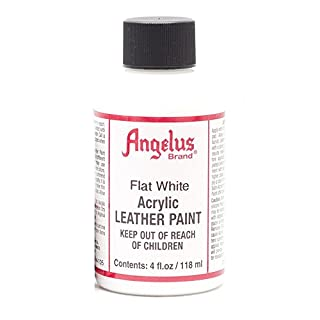 Angelus Leather Paint 4 Oz Flat White