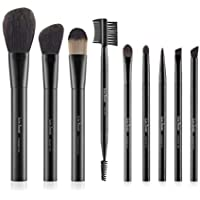 LureSenses 9 PC Premium Makeup Brush Essential Set