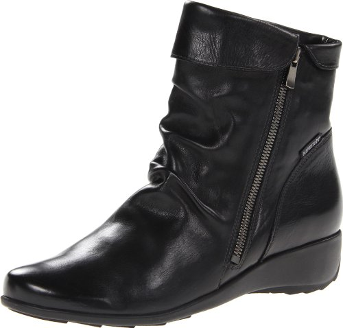 Mephisto Sheddy Black Womens Boots Noir