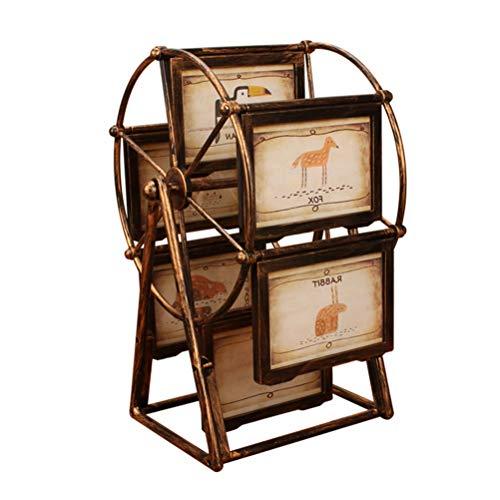 n Kreative Vintage Drehen Riesenrad Design Fotorahmen für Hochzeit Fotogalerie Deko ()