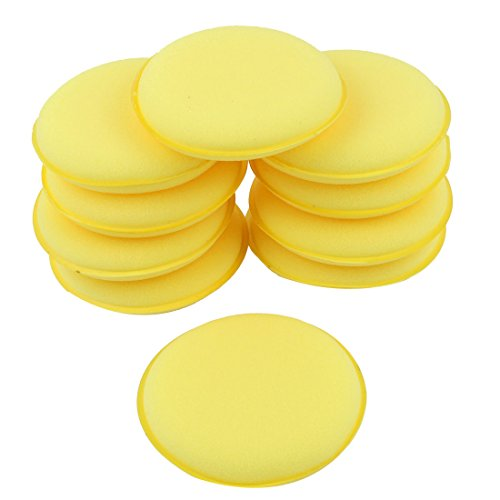 sourcingmapr-10-stuck-runde-geformte-4-dia-sponge-wax-applicator-pads-gelb-fur-auto-de