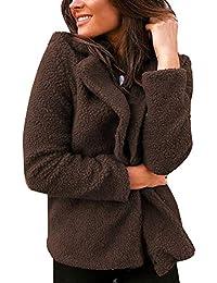ecfecd50f645 Femme Hiver Manteau Blazer Manche Longue Blousons Casual Veste