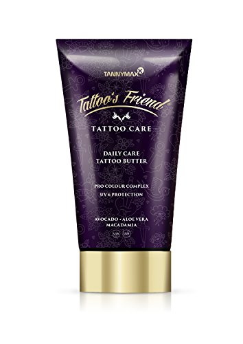 Tattoo's Friend Daily Care Tattoo Creme Butter mit Avocado Butter, Aloe Vera und Macadamia Öl/UV 6 Protection