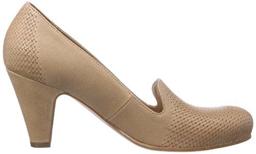 Objects in Mirror S103, Chaussures à talons - Avant du pieds couvert femme Beige - Beige (Desert)