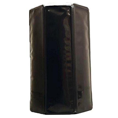 Vacu Vin 38804606- Aktiv Weinkühler schwarz 0,75-1,0 l